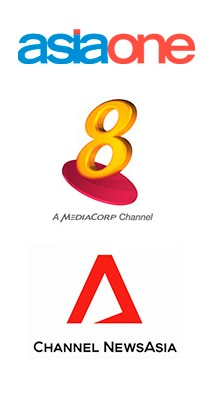 Singapore Media Logos
